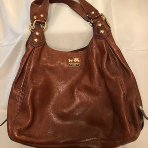 Walnut Brown COACH Satchel, C1071-14336